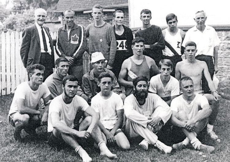 Photo of 1967 Glen Tay Block Race finishers